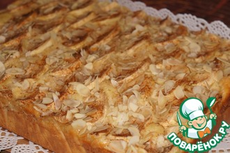 Рецепт: Яблочный пирог на сметане