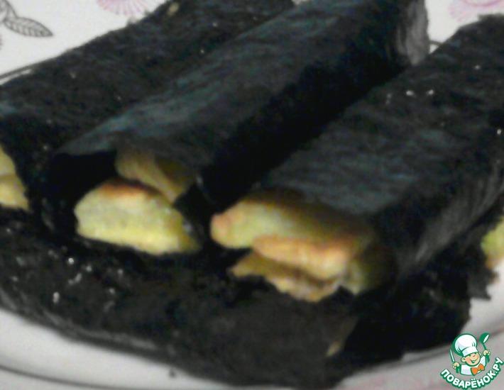 Рецепт: Кабачковые «роллы»