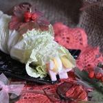 Рулетики из пекинской капусты