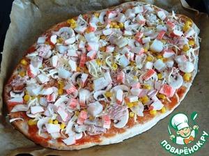 """""""Ленивая"""" пицца – кулинарный рецепт"""