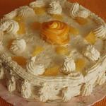 Морковно-апельсиновый пирог-торт Рыжий львенок