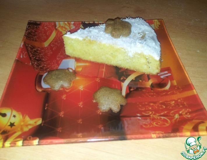 Рецепт: Пирог Первый снег