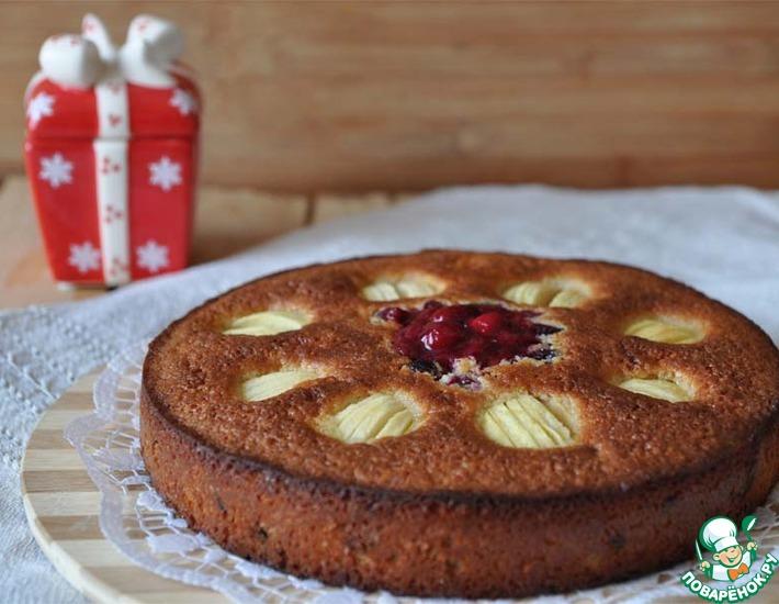 Рецепт: Пирог В ожидании Рождества