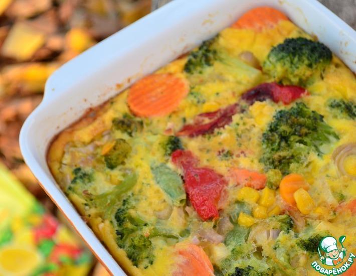 Рецепт: Фриттата Осенние краски