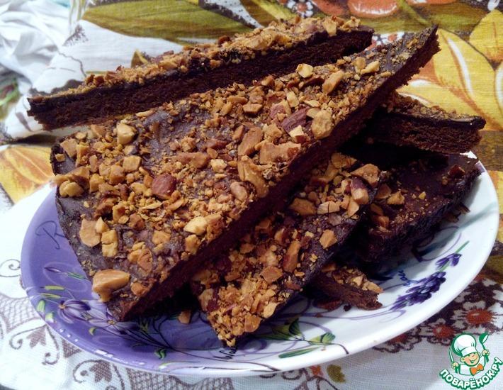 Рецепт: Шоколадный шортбред