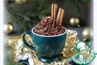 Рецепт: Очень быстрый шоколадный мусс