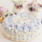 Торт без выпечки Ангельский
