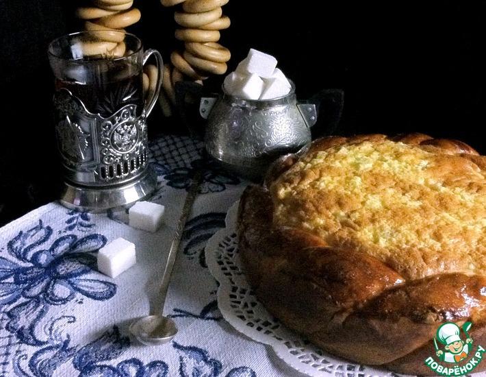 Рецепт: Пирог Из России с любовью