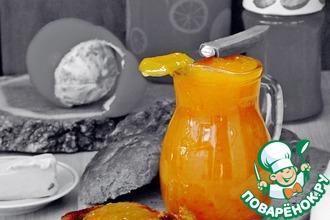 Рецепт: Апельсиновый джем в мультиварке