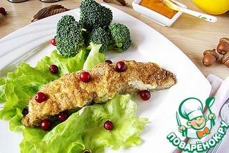 Рецепт: Филе рыбы под хрустящей корочкой