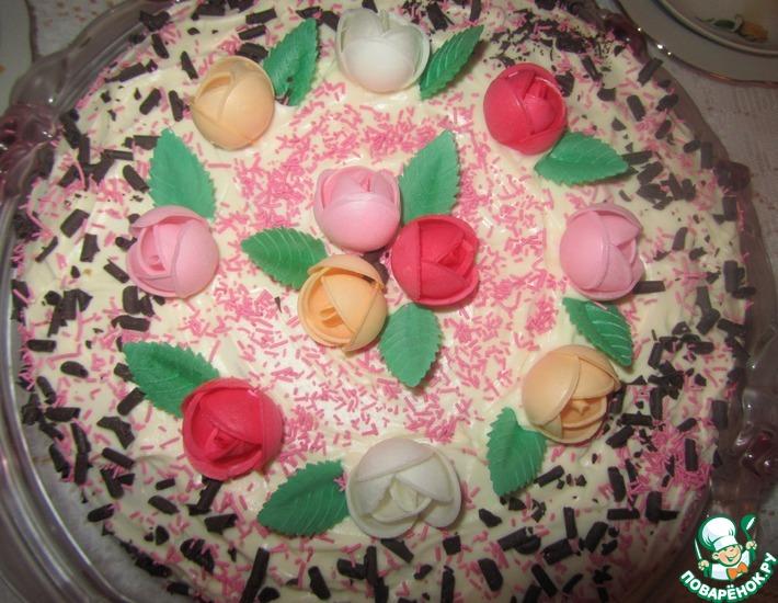 Рецепт: Торт Елена Прекрасная