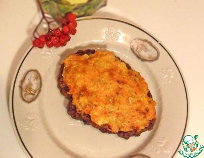 Рецепт: Печень по-шухтински на сковороде