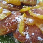 Сырники с айвой и мармеладом