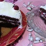 Шоколадный торт Зимняя вишня
