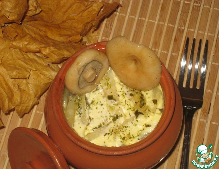 Рецепт: Махеевские горшочки