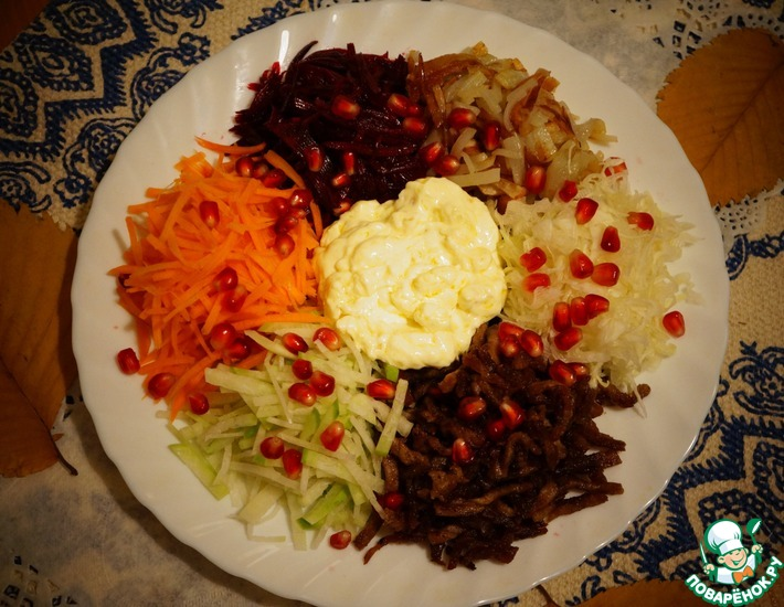 Рецепт: Салат Королевский