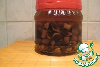 Рецепт: Быстрые маринованные грибы