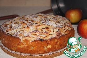 Рецепт: Яблочный пирог от бабушки Эммы