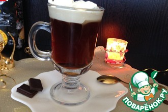 Рецепт: Настоящий ирландский кофе