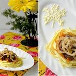 Салат с печенью «Осенние краски»