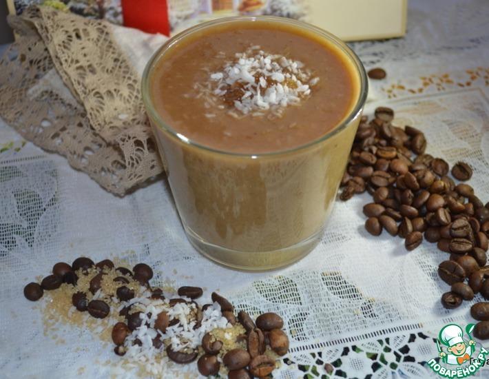 Рецепт: Кофейно-кокосовый смузи