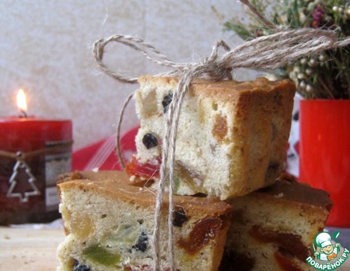 Рецепт: Рождественский кекс Данди