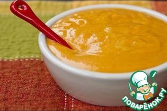 Рецепт: Соус с тыквой и маскарпоне