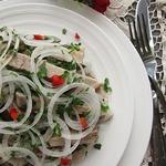 Деревенский свадебный салат