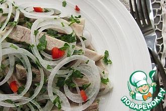 Рецепт: Деревенский свадебный салат