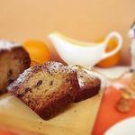 Имбирный кекс с соусом
