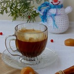 Кофе с корицей и сливками