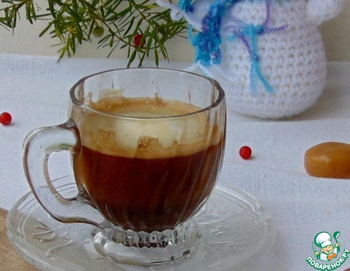 Рецепт: Кофе с корицей и сливками