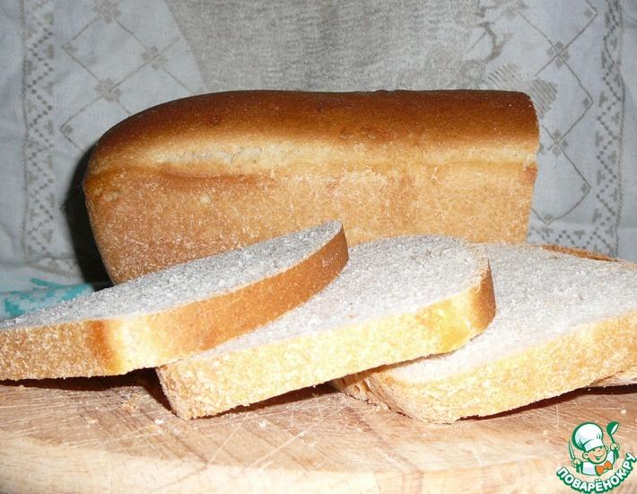 Рецепт: Ячменный хлеб с молоком на закваске