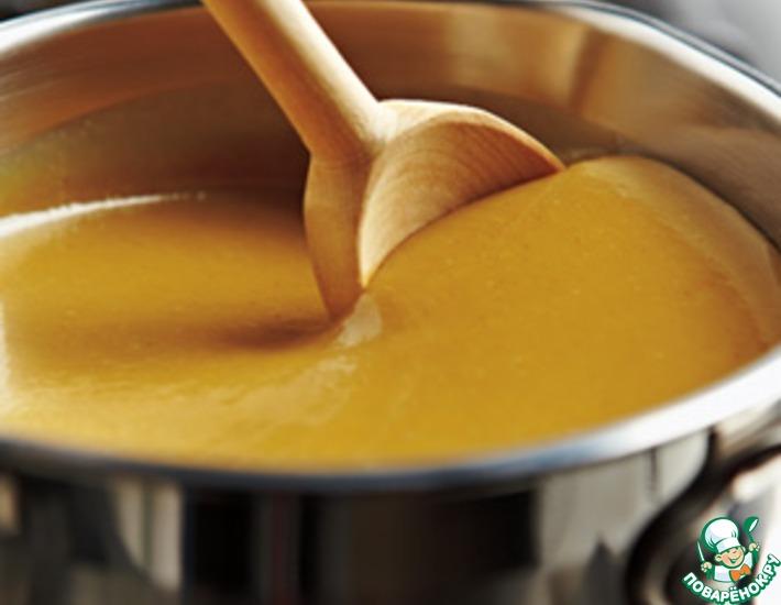 Рецепт: Сливочный кленово-горчичный соус