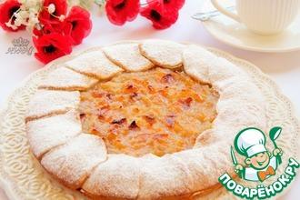 Рецепт: Пирог грушево-яблочный Нежность