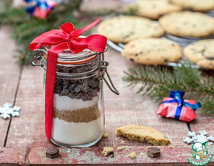 Рецепт: Подарочный набор для американского печенья