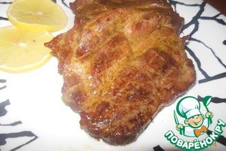 Рецепт: Стейки из свинины в духовке