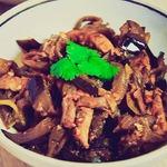 Баклажановый салат Кадича