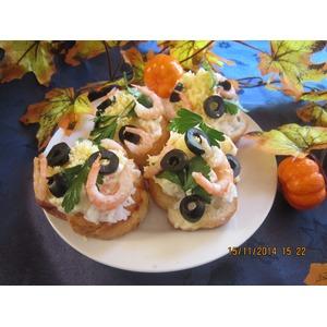 Закусочные пирожные с мандаринами