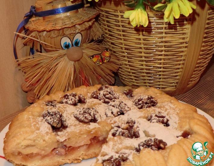 Рецепт: Песочный пирог Осенний