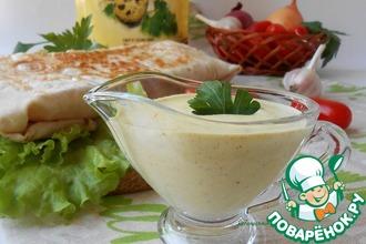 Рецепт: Настоящий соус для шавермы