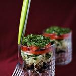 Салат с ветчиной и черносливом
