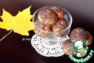 Рецепт: Сырное печенье с начинкой из маслин