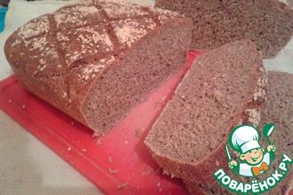 Рецепт: Хлеб пшенично-ржаной на закваске