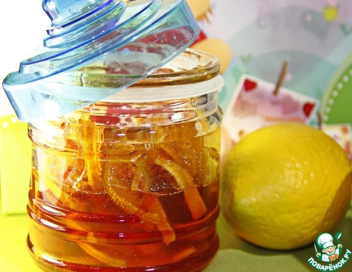 Рецепт: Лимонно-имбирный конфитюр