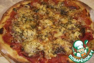 Рецепт: Настоящая итальянская пицца