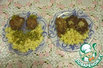 Рецепт: Нежные котлетки (мясные оладушки)