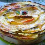 Пирог Овощной цветок