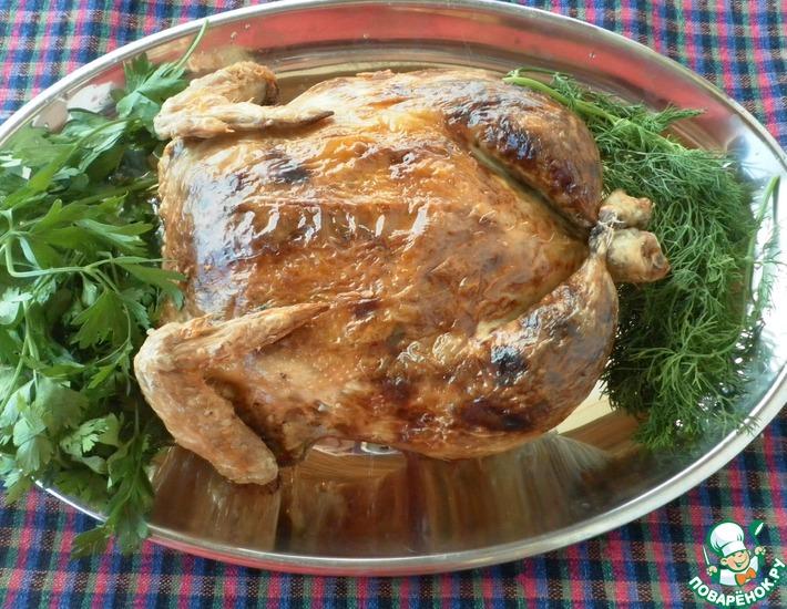 Рецепт: Курица Обманщица