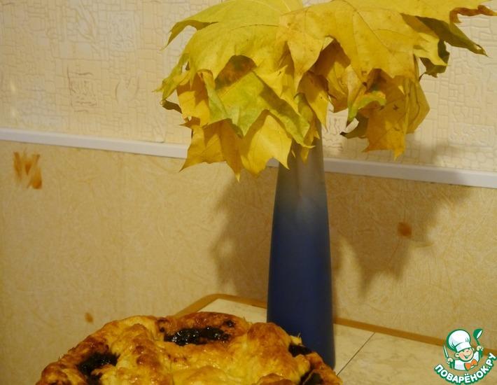 Рецепт: Пирог Сдобный с вареньем